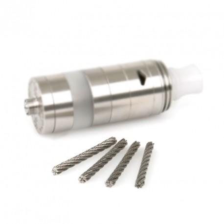 Câbles en inox (x4) pour Corona V8 par Steampipes