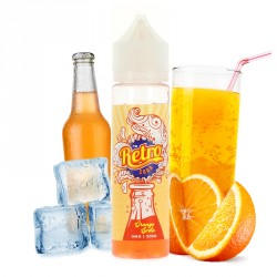 E-liquide Orange Soda 50mL par Retro Soda