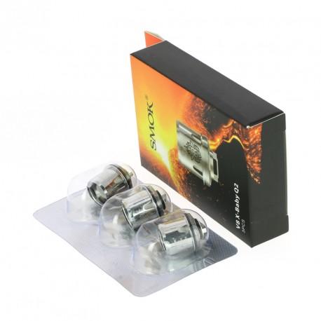 Résistances (x3) pour TFV8 X-Baby par Smoktech