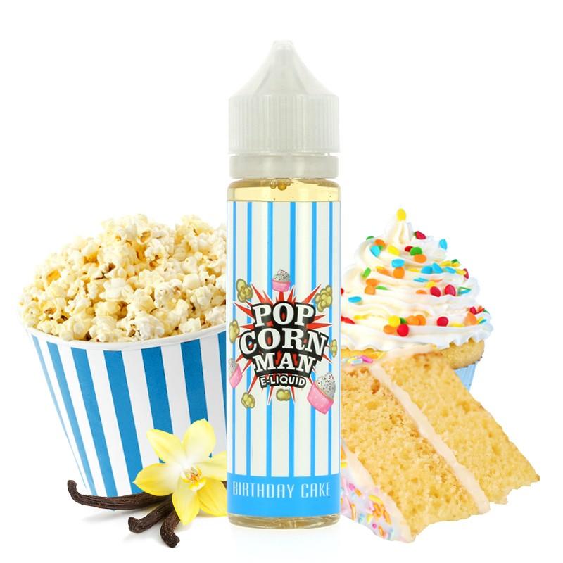 E-Liquide Birthday Cake 50ml Par Pop Corn Man
