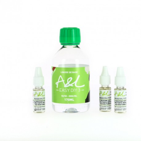 Pack Base 200ml 3mg par A&L