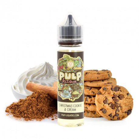E-liquide Christmas Cookie & Cream par Pulp