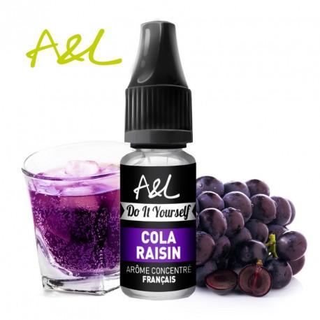 Arôme Cola Raisin par A&L (10ml)
