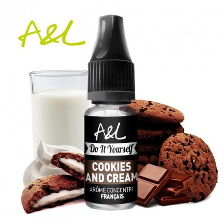 Arôme Cookies and Cream par A&L (10ml)