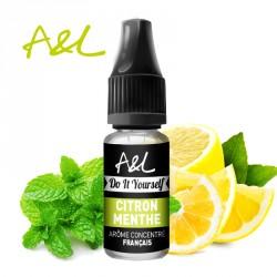 Arôme Citron Menthe par A&L (10ml)