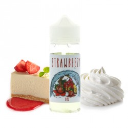 E-liquide Strawbeezy 100ml par Wake Mod