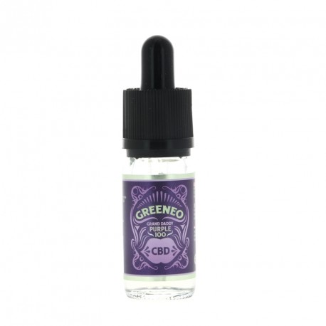 E-liquide CBD Grand Daddy Purple 10ml par Greeneo