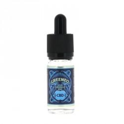 E-liquide CBD Sour Diesel 10ml par Greeneo