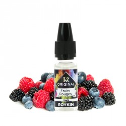 E-liquide Fruits Rouges 10ml par Roykin