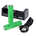 Pack Chargeur MC2 Accu VTC6 18650