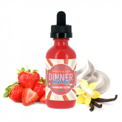 E-liquide Strawberry Custard 60ml par Vape Dinner Lady