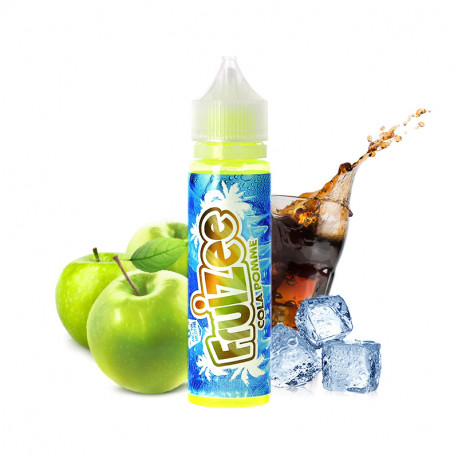 E-liquide Fruizee Cola Pomme 50ml par Eliquid France