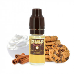 E-liquide Christmas Cookie & Cream 10ml par Pulp