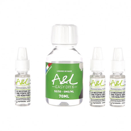 Pack Base 100ml 6mg par A&L