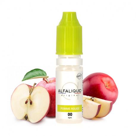 E-liquide Pomme Rouge 10ml par Alfaliquid