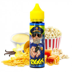 E-liquide Cop Juice Riggs 50ml par Eliquid France
