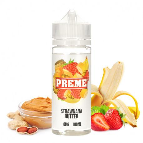 E-liquide Strawnana Butter par Preme