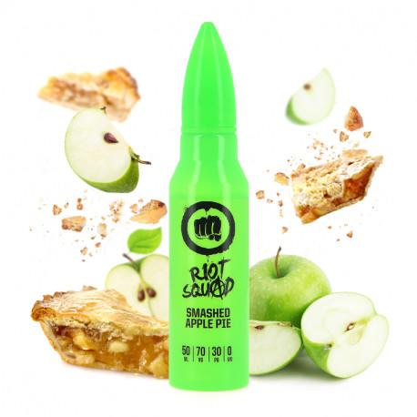 E-liquide Smashed Apple Pie 50ml par Riot Squad
