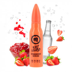 E-liquide Strawberry Scream 50ml par Riot Squad