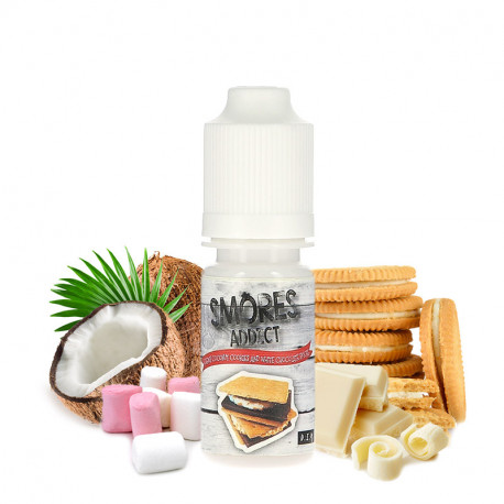 Concentré Chewy Coconut Cookies And White Chocolate par Smores Addict