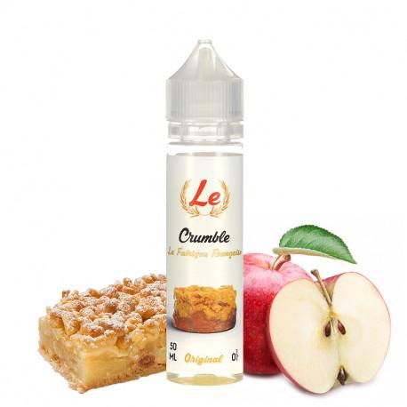 E-liquide Le Crumble 50ml par La Fabrique Française