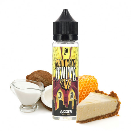 E-liquide Brooklyn White 50ml par Vape Institut