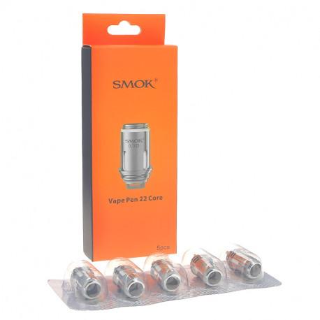 Résistances (x5) Vape Pen 22 par Smoktech