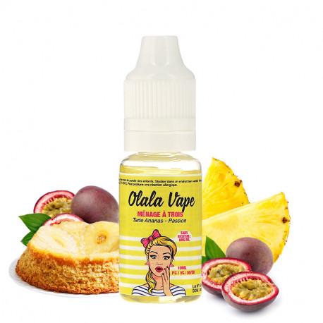 E-liquide Ménage à trois par Olala Vape