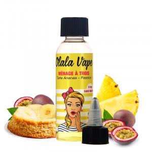 E-liquide Ménage à trois 50ml par Olala Vape