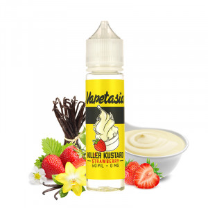 E-liquide Strawberry Killer Kustard 50ml par Vapetasia