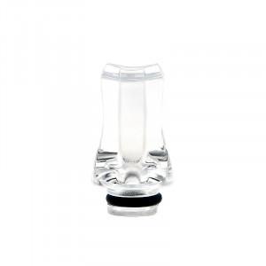 Drip-Tip 510 Bec court en acrylique