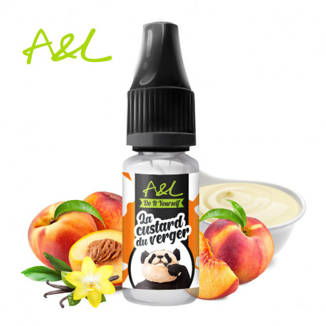 Arôme La Custard du Verger par A&L (10ml)