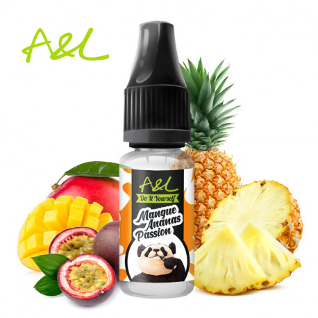 Concentré Mangue Ananas Passion par A&L (10ml)