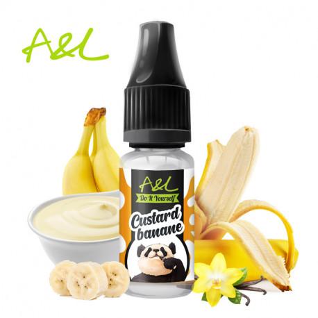 Arôme Custard Banane par A&L (10ml)