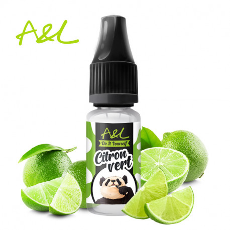 Arôme Citron Vert par A&L (10ml)