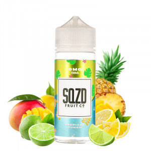 E-liquide Tropical Punch 100ml par SQZD