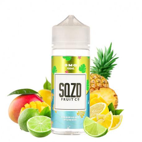 E-liquide Tropical Punch 100ml par SQZD