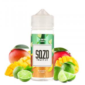 E-liquide Mango Lime 100ml par SQZD