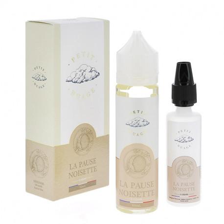 E-liquide La Pause Noisette 60ml par Petit Nuage