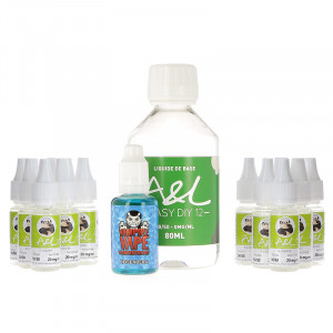 Pack DIY Heisenberg 200ml par A&L