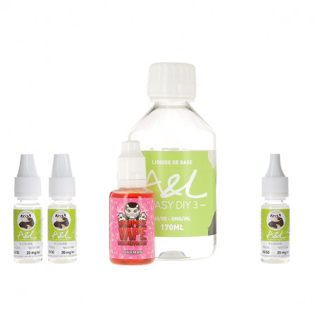 Pack DIY Pinkman 200ml par A&L