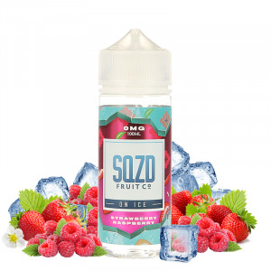 E-liquide Strawberry Raspberry On Ice 100ml par SQZD