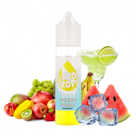 E-liquide Yellow Punch Fresh Edition 50ml par Flavor Drops