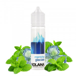 E-liquide Menthe Glaciale 50ml par Solana