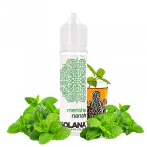 E-liquide Menthe Nanah 50ml par Solana