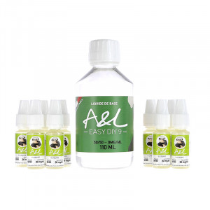 Pack Base 200ml 50/50 par A&L