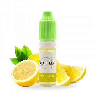 E-liquide Citron jaune Alfaliquid 10ml
