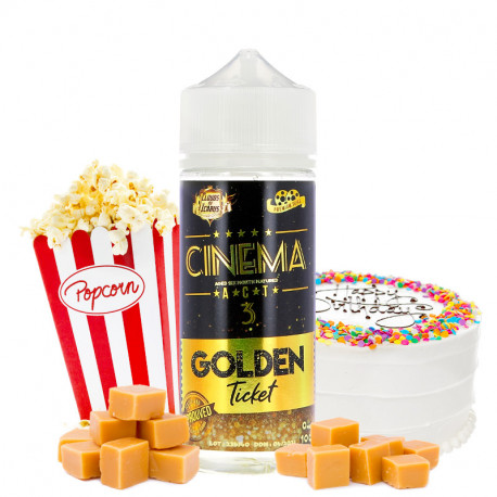 E-liquide Cinema Reserve Act 3 100ml par Cloud of Icarus