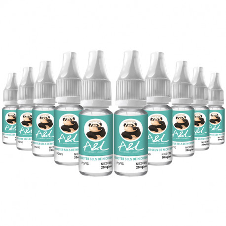 Pack 10 Boosters Sels de Nicotine A&L