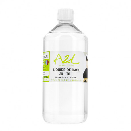 Liquide de Base A&L 1L Sans nicotine